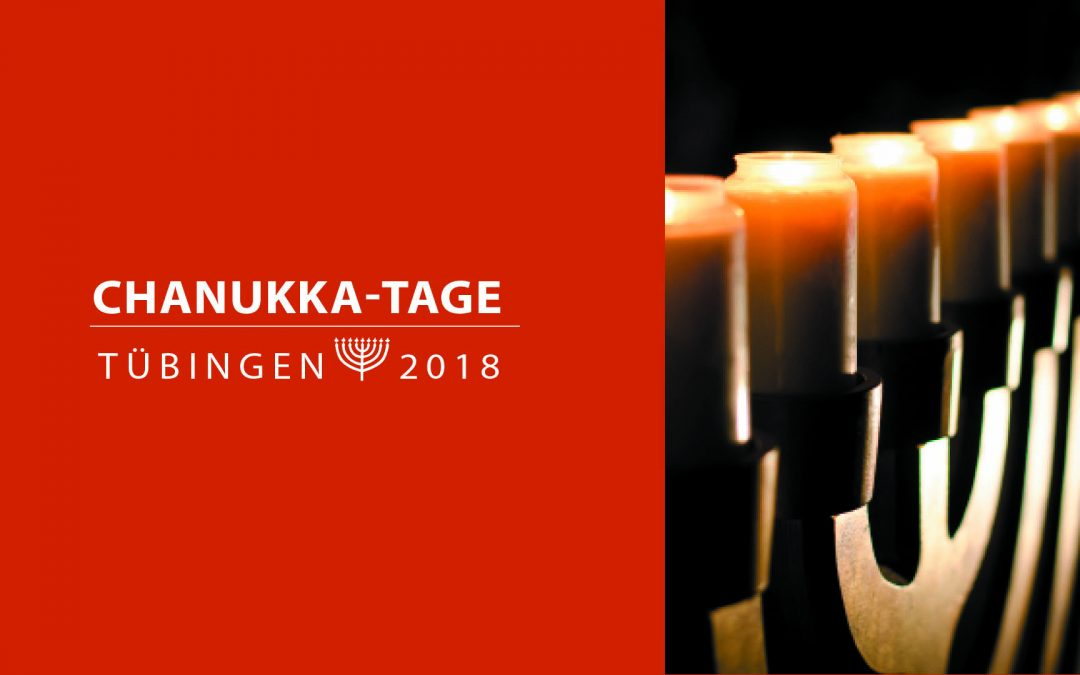 Chanukka-Tage 2018 in Tübingen