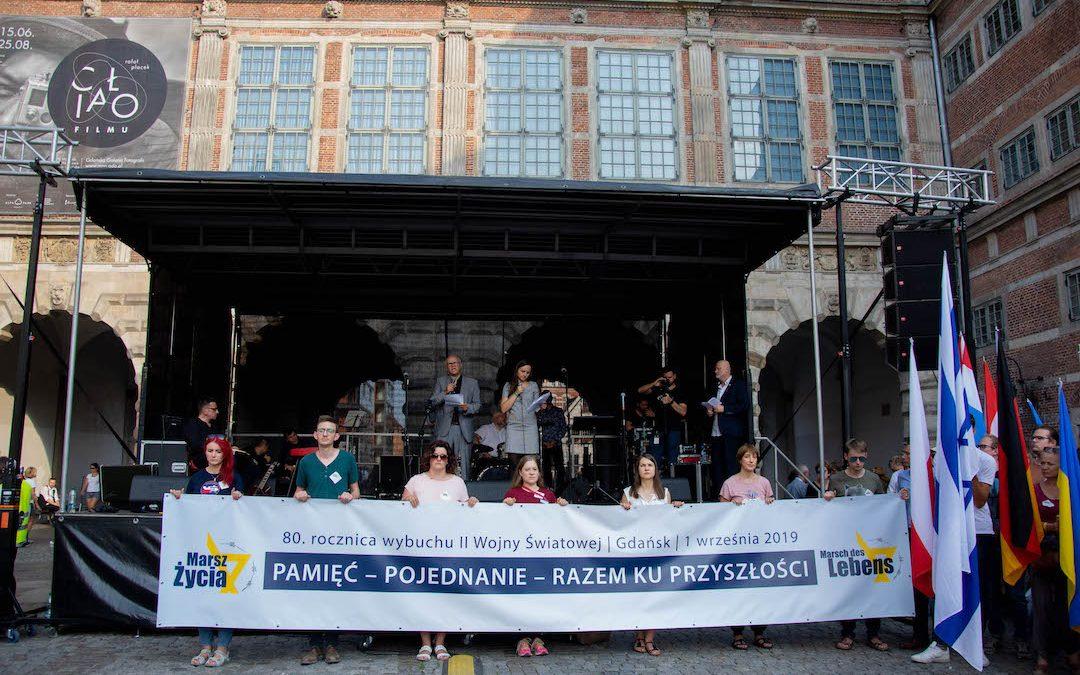 Marsch des Lebens Gdansk
