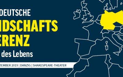 Jetzt anmelden: Polnisch-Deutsche Freundschaftskonferenz