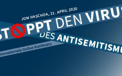 Den Virus des Antisemitismus STOPPEN!