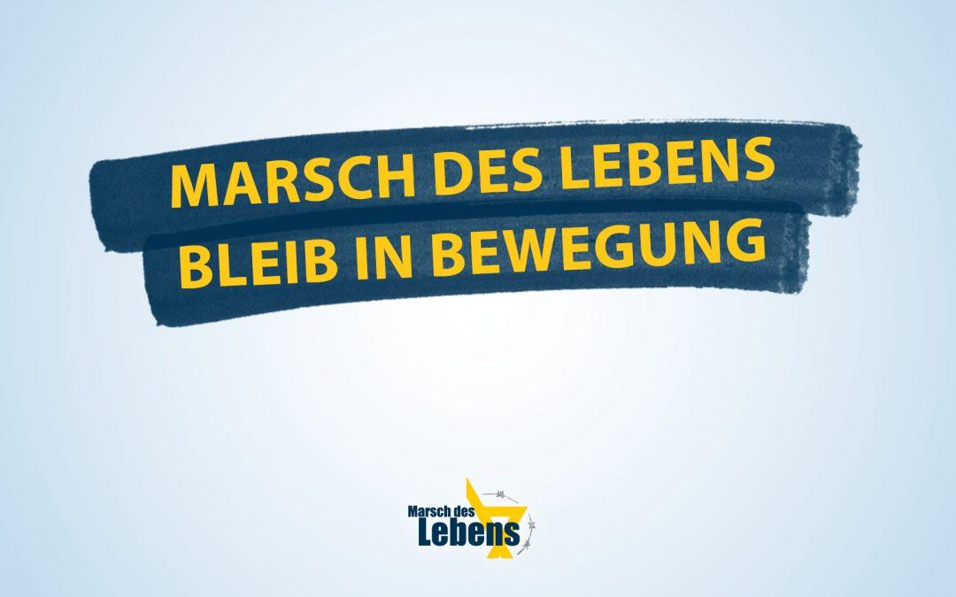 Marsch des Lebens – Bleib' in Bewegung!