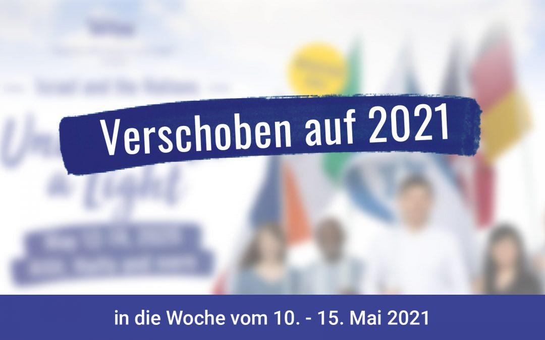March of the Nations wird auf 2021 verschoben