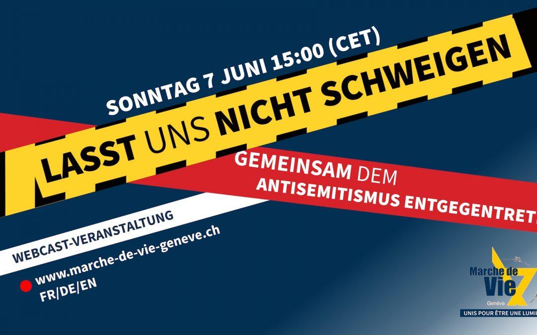 3. Marsch des Lebens in Genf, 07. Juni 2020