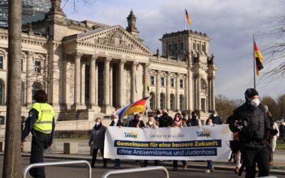 Marsch des Lebens in Berlin und weltweit anlässlich Jom haSchoa