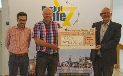 Dank Ihrer Unterstützung: Marsch des Lebens sponsort drei mobile Luftschutzbunker in Israel